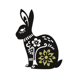 Ilustração de um coelho